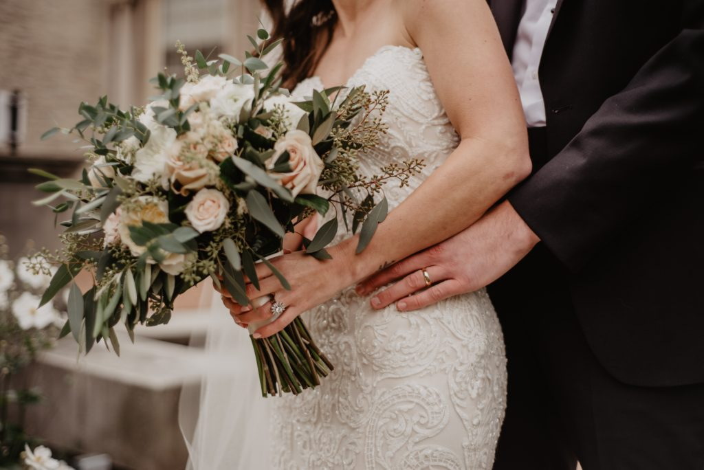 woman-wearing-white-wedding-gown-2253867